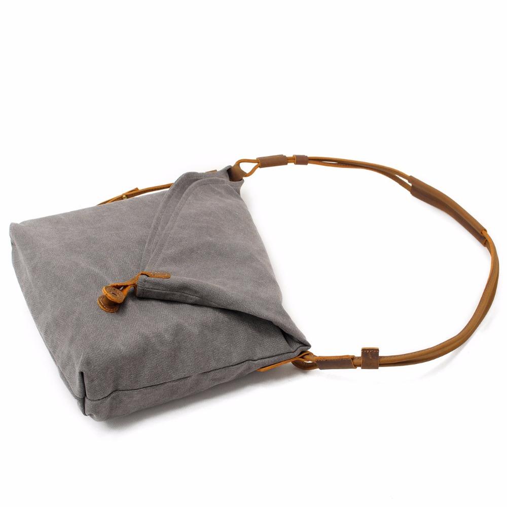 New Casual Canvas Crossbody Messenger Shouder Handbag Tote