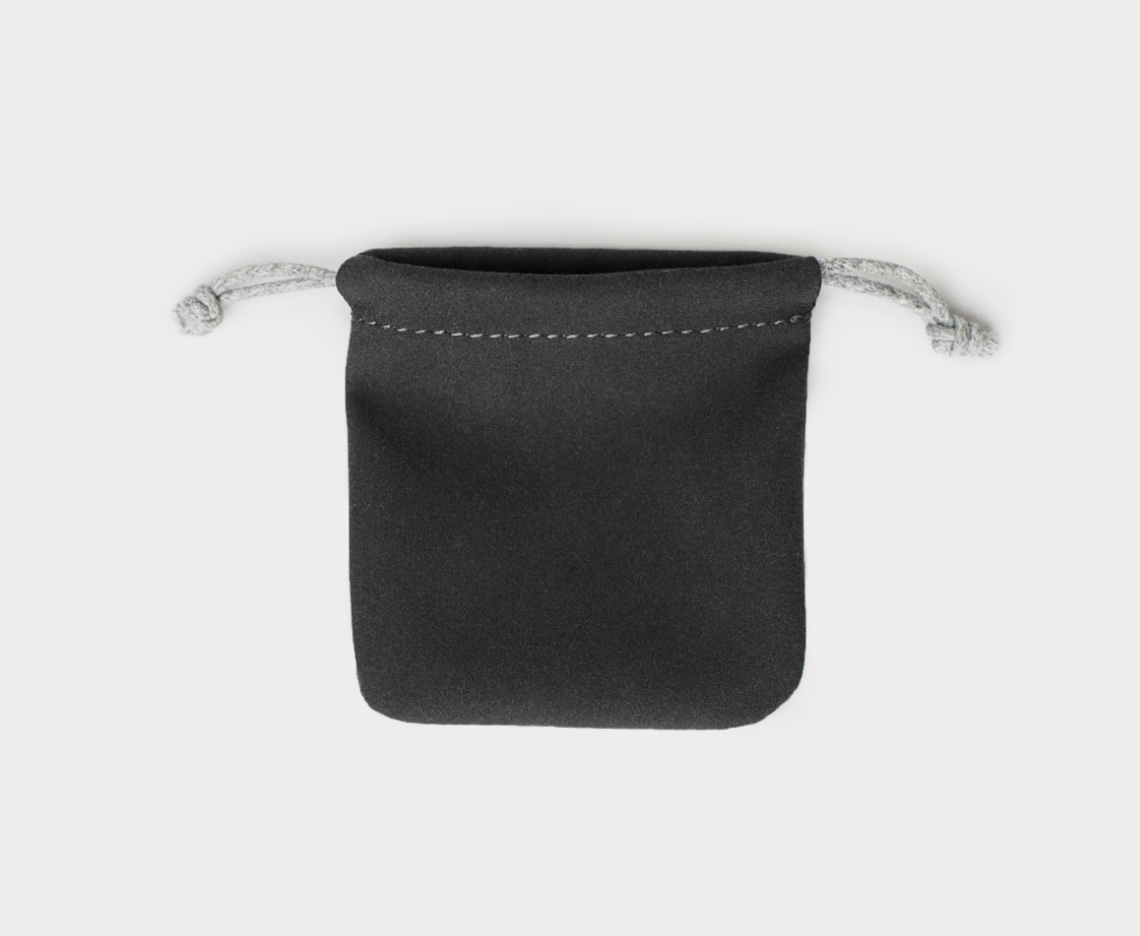 High Quality Microfiber Velvet Drawstring Pouch (60mm x 60mm) / Dice Bag