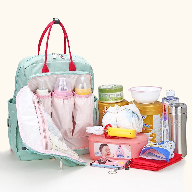 mummy bag travel with baby backpack