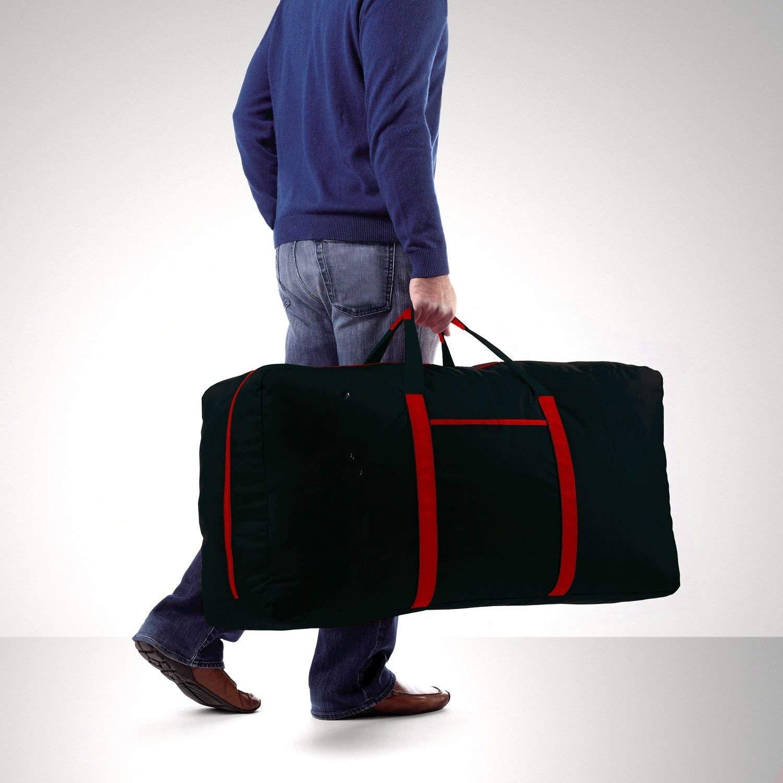 Large Duffle Bag Lightweight,  Waterproof Travel Duffle Bag Foldable for Men