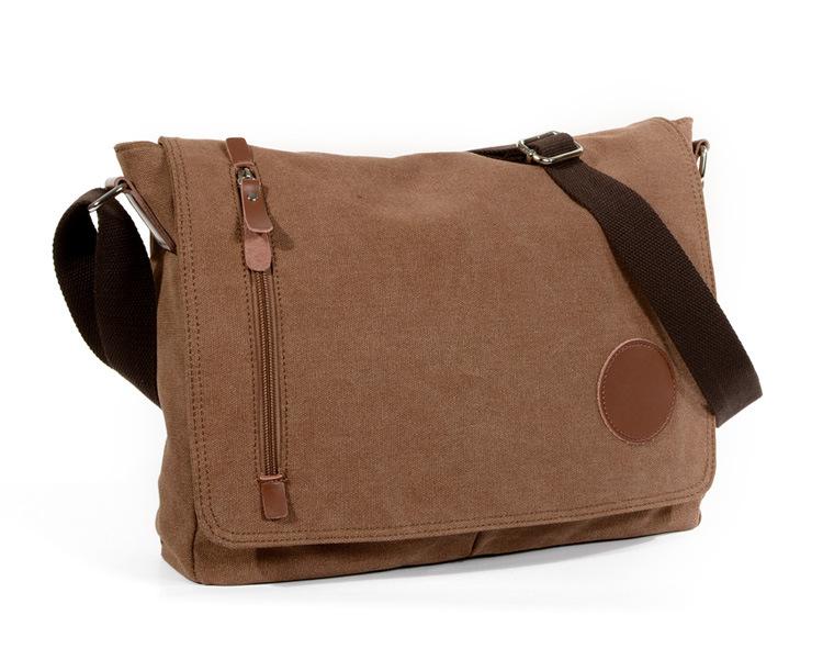 canvas shoulder bag