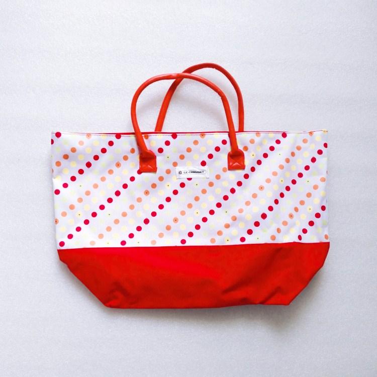 600D custom printed promotional tote bag