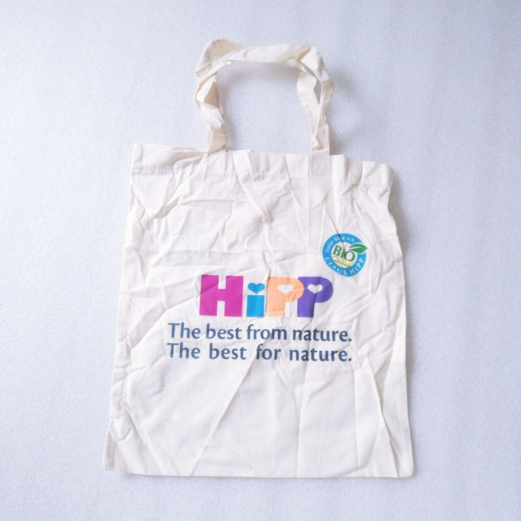 Nature Cotton shopping bag with custom printing and logo