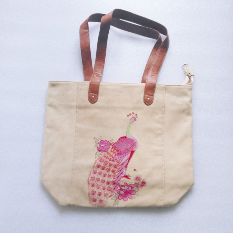 Photo print bag canvas tote bag -RB601