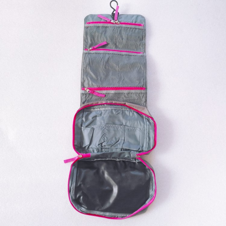 Waterproof Travel Kit Organizer Makeup Storage Cosmetic Bag Toiletry Bag -RB408